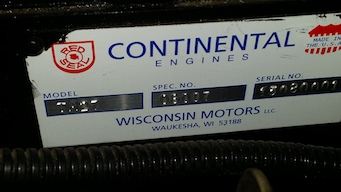 Continental TM 27 new natural gas engine