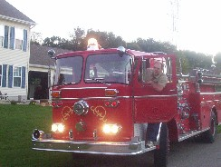 Seagrave Fire Truck fitted with Waukesha 145GZ Engine