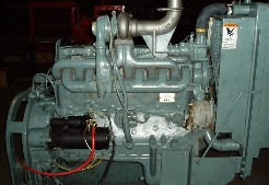 Hercules D4800T engine