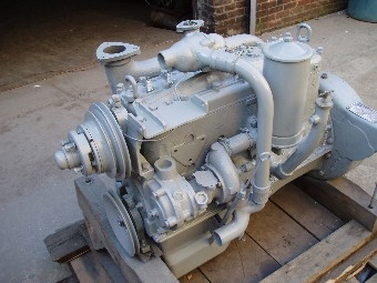 Hercules JXLD engine