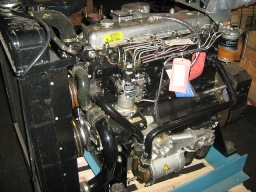 Perkins T6.354.4 engine