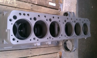 Waukesha F554G engine block assembly